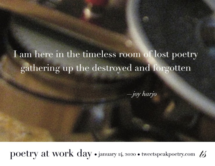 I am here in the timeless room of lost poetry joy harjo quote