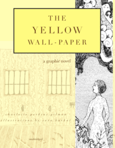 The Yellow Wall-Paper Graphic Novel cropped cover