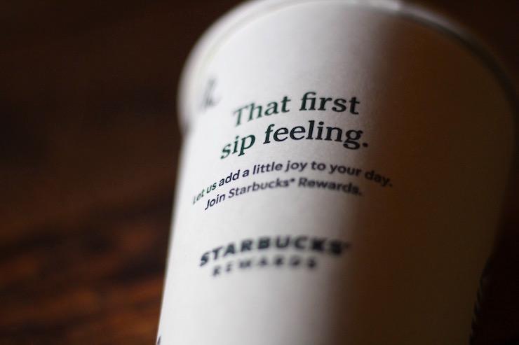 Starbucks Cup in the Attic