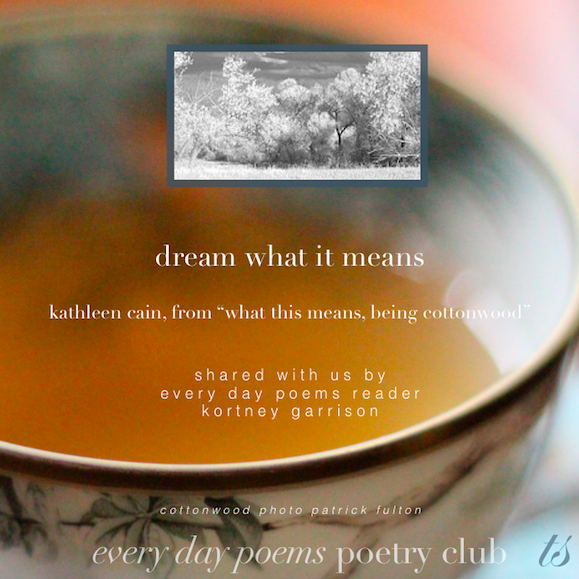 dream what it means kathleen cain