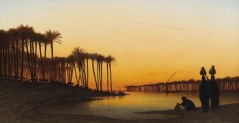 Sunset on the Nile-One-Art-Elizabeth-Bishop