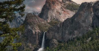 Wallace Idaho waterfall Poet-a-Day David K. Wheeler