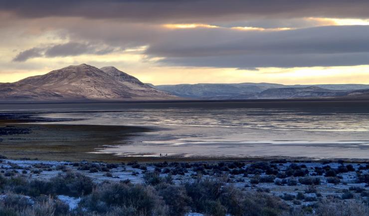 Alvord Desert at dawn