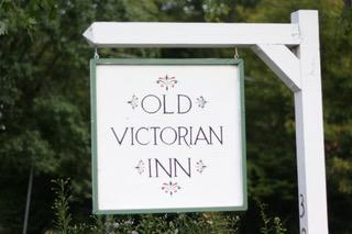 Old Victorian Inn sign